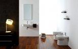 Łazienka, ceramika sanitarna Touch w wersji stojącej