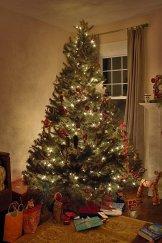 Choinka, dekoracje świąteczne