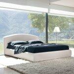 pięknie wykonane łóżko