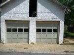 brama w garażu