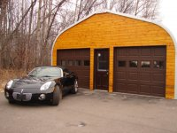 stylowy garaż