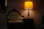rozproszone światło lampki nocnej